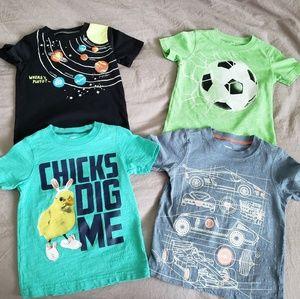 Carters Toddler t-shirt lot